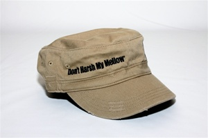 Don't Harsh My Mellow Military Hat