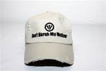 Don't Harsh My Mellow Distressed Cap