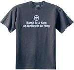 Harsh is to Ying as Mellow Yang Men's Classic Fit Men's T-Shirt