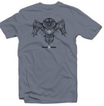 Bad Ass Owl Hybrid Tee