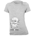 Big Buddah Fitted Women's T-Shirt