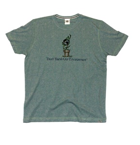 Don't Harsh Our Environment Hybrid Recycled Tee