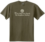 Thou Shalt Not Thy Neighbors Mellow Classic Fit Men's T-Shirt